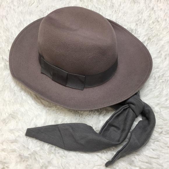 0b6e36d65 Vintage DoeSkin Felt 100% Wool Bollman Hat